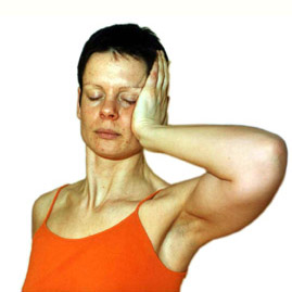Halsstärkungsübung