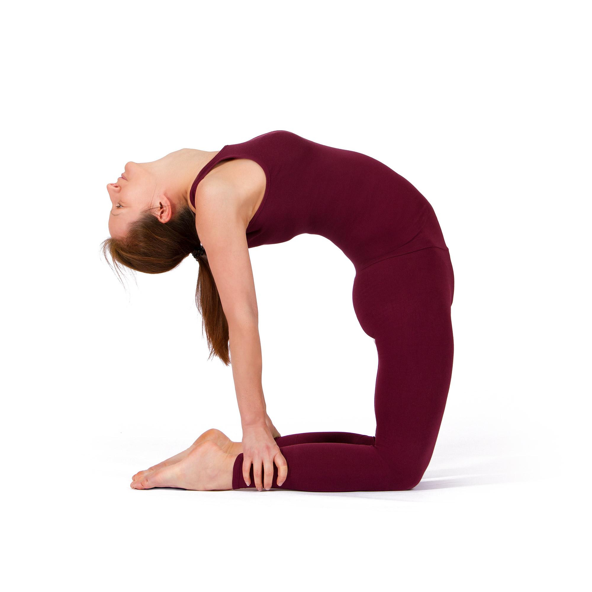 Kamel Ustrasana – Wirkung, Videos und Anleitung zu Yoga Asanas