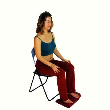 Meditation auf dem Stuhl